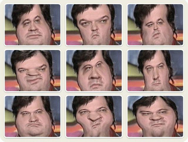 Вариантов рожиц в webcammax очень много и все они классные