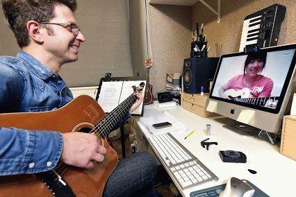 трансляция групповая музыки через скайп