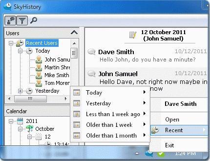 SkyHistory - ощутите кайф от общения в скайп