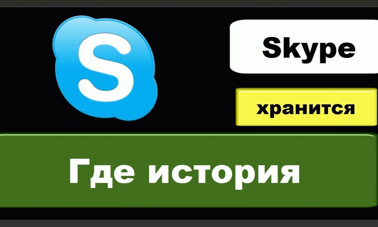куда скайп сохраняет файлы на компьютере