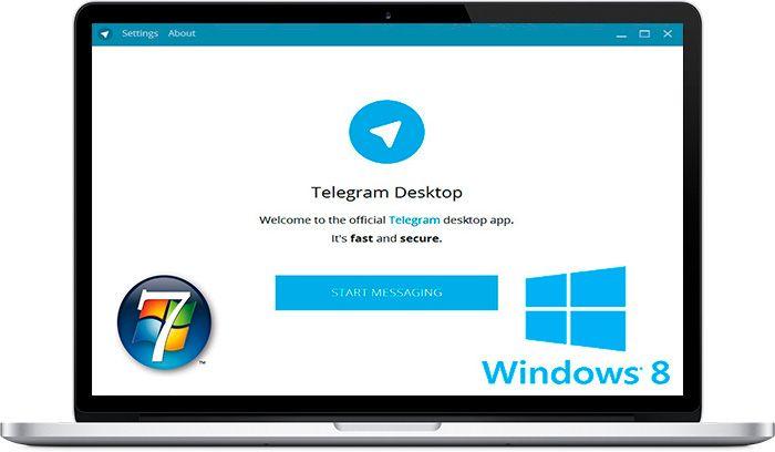 Поставить телеграм на ноутбук windows xp или windows 7 - проще простого