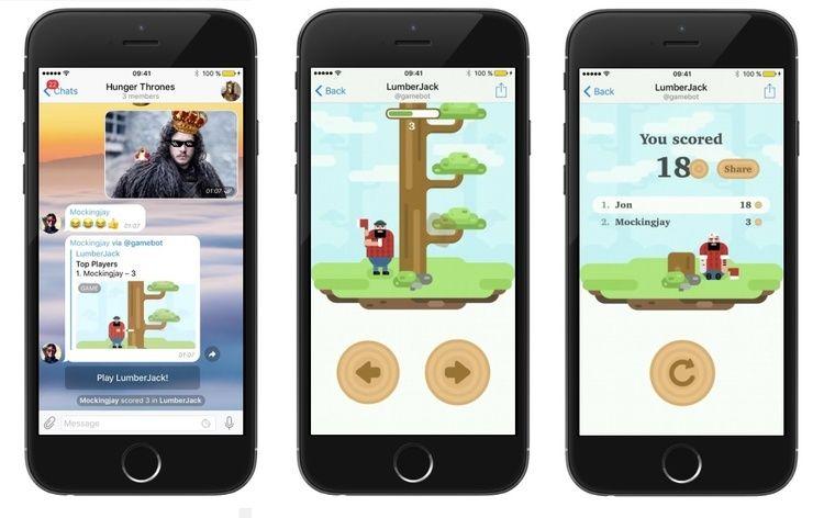 Как создать игру в telegram desktop - умения нужны