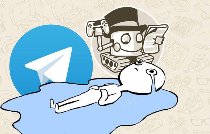Для telegram игры есть бот на русском