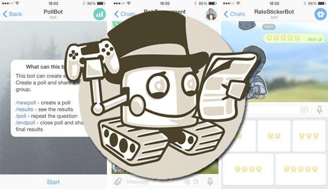 Боты телеграмм - самые полезные для групп игры