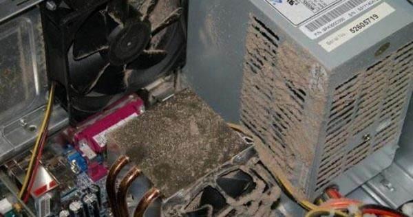 Как чистить блок питания от пыли - только аккуратно