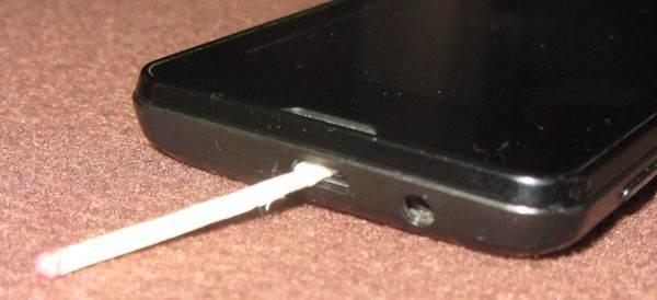 Мы знаем как очистить усб порты телефонов