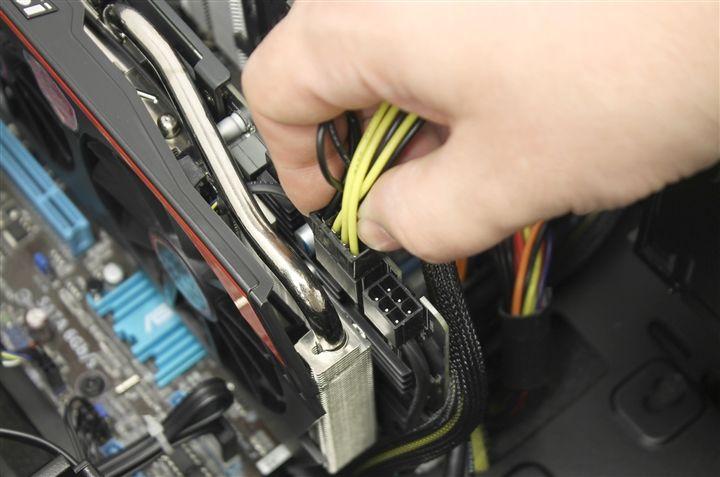 Перестала работать видеокарта после чистки - проблема в сборке