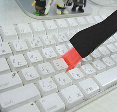 Чистка клавиатуры macbook air - все просто