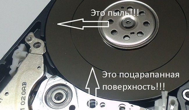 Чем почистить жесткий диск при разборке - читаем инструкцию