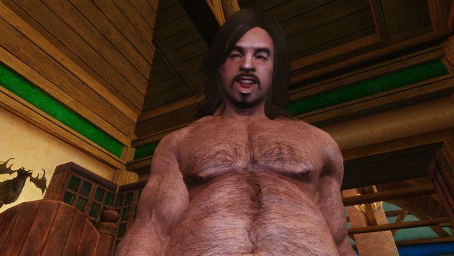 Сексуальный мужчина в скайриме