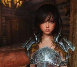 Самые красивые лица в Skyrim