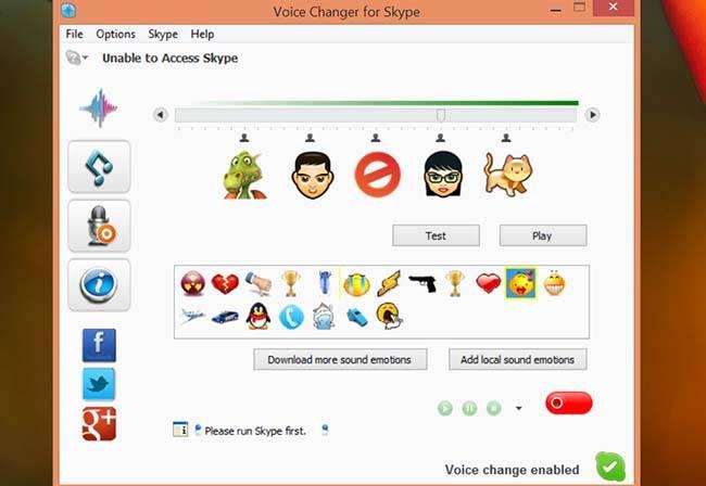 Как использовать athtek skype voice changer