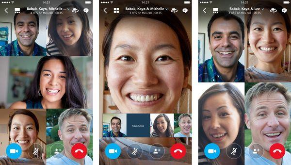 Мы вам расскажем как сделать групповой видеозвонок в скайпе бесплатно