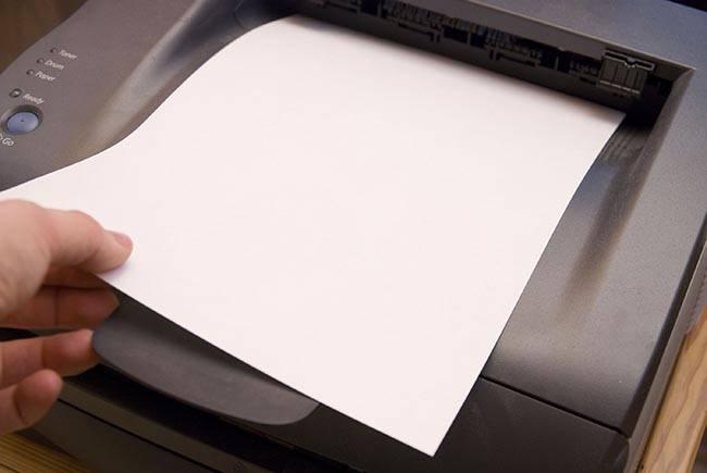 Как убрать лишнюю пустую страницу при печати
