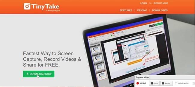 Съемка видео с экрана компьютера