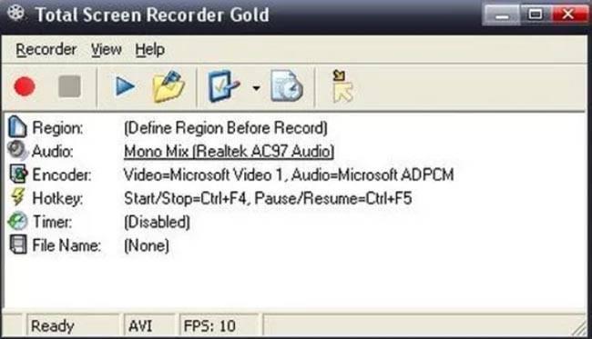 Программа для съемки видео с экрана для игр видео