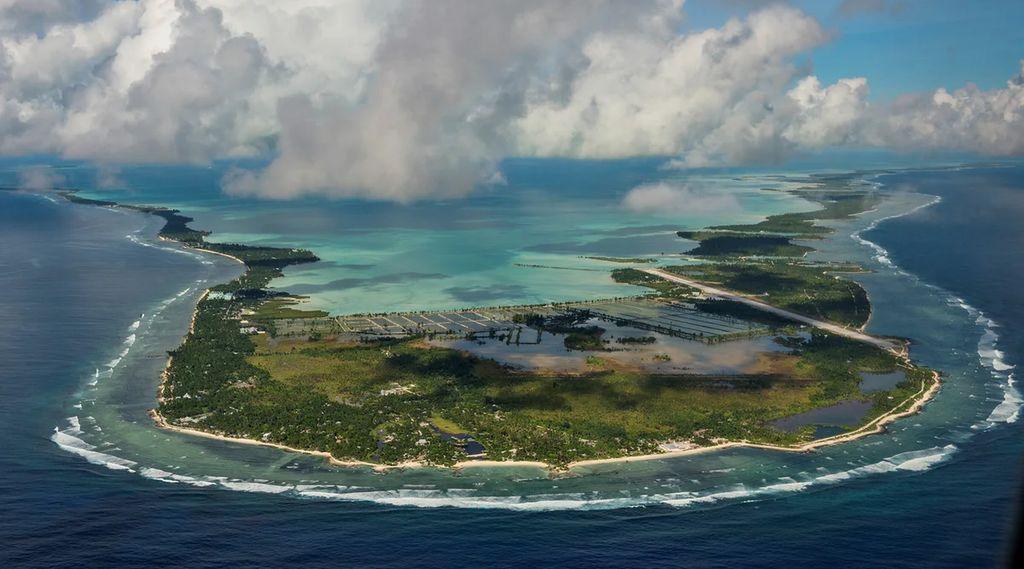Кирибати центральная часть Тихого океана