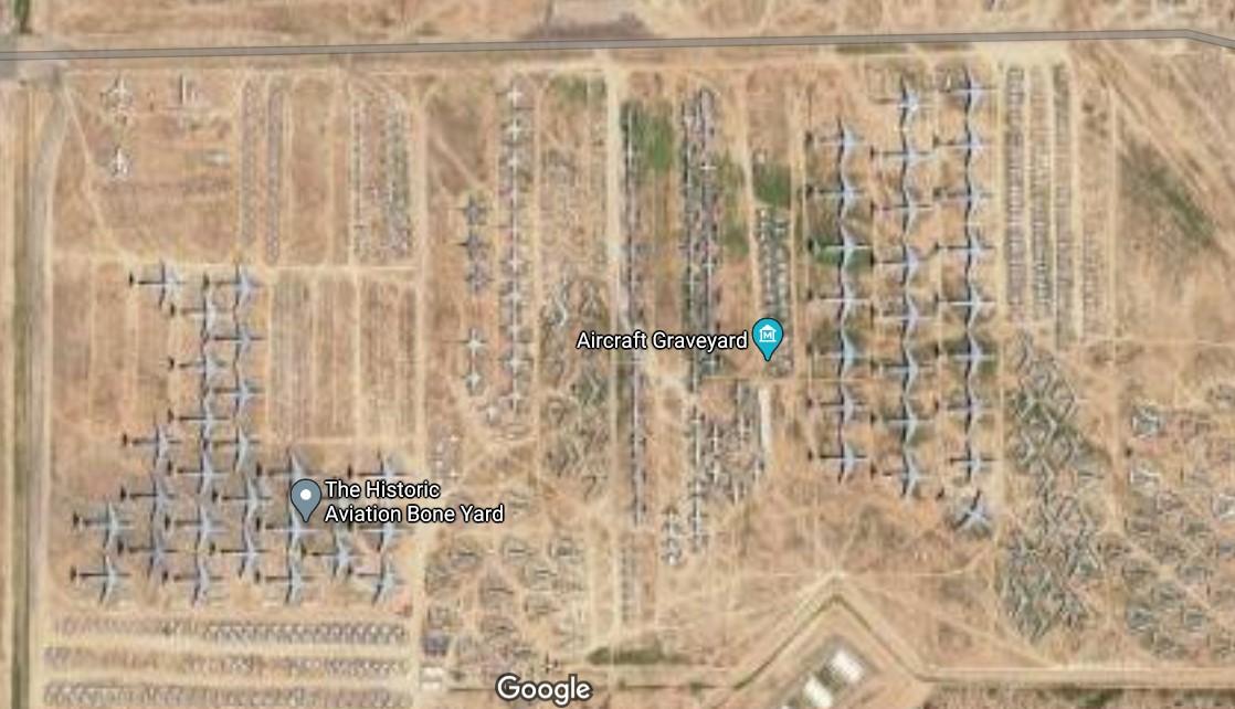 Военно-воздушная база Дэвис Монтан, Тусон, Аризона, США