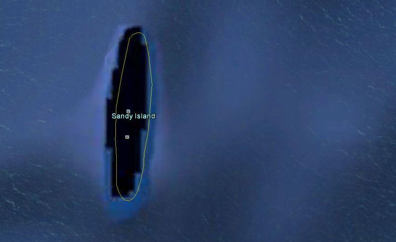 таинственный остров на карте