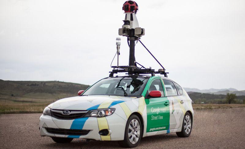автомобиль гугл для панорма