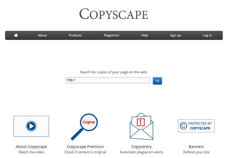 Copyscape сервис