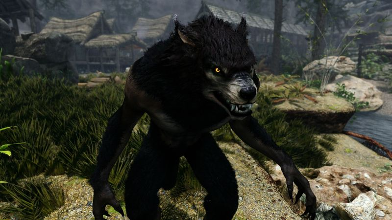 Превращение в волка (ликантропия)